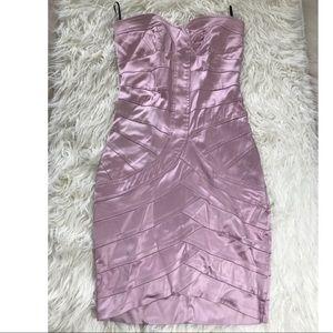 Pink Arden B. bondage dress